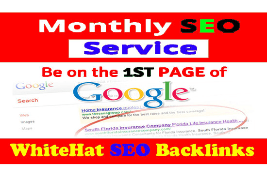 I will 300 SEO backlinks white hat manual link building service for google top ranking