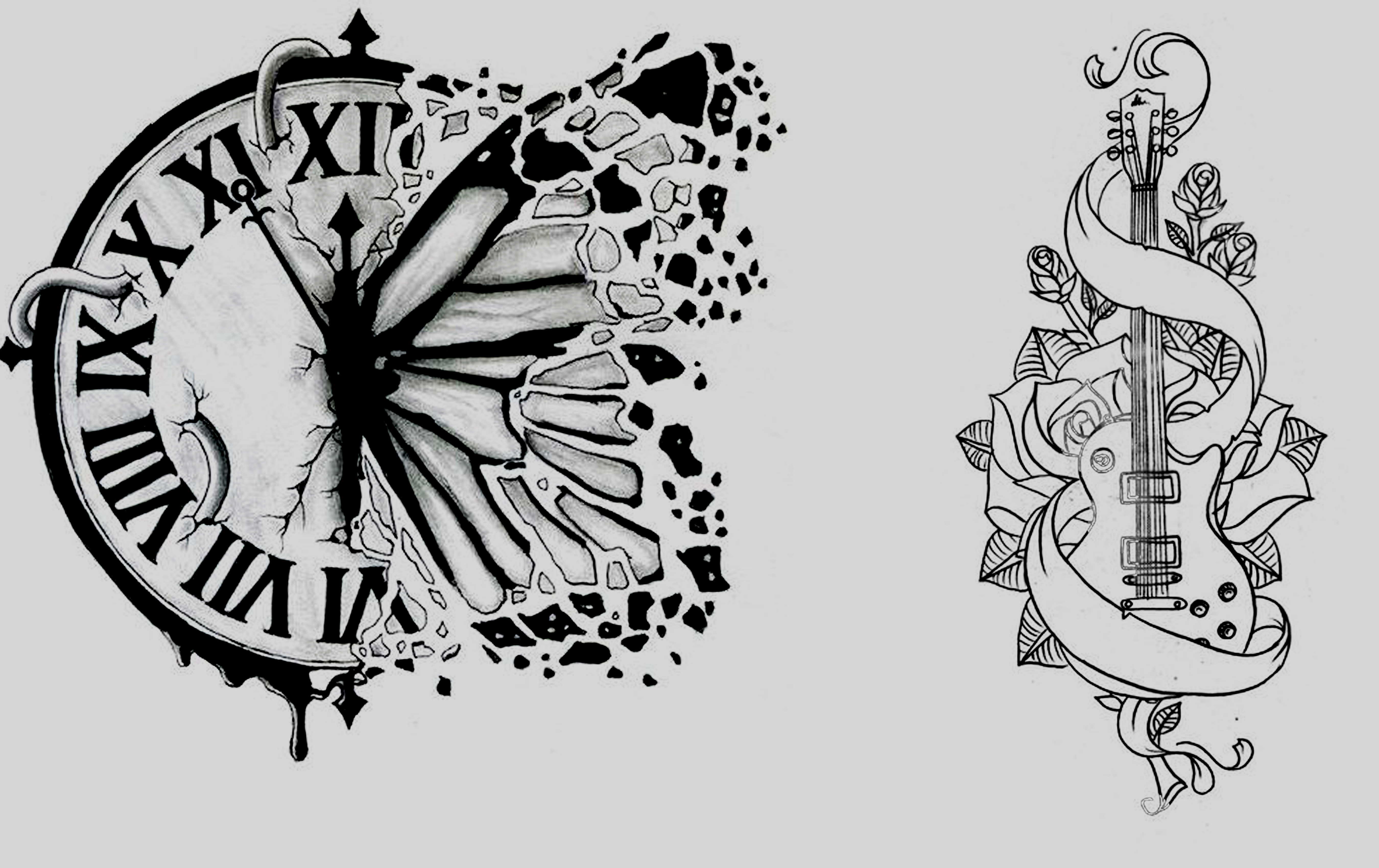 Custom HIGH QUALITY tattoo designs