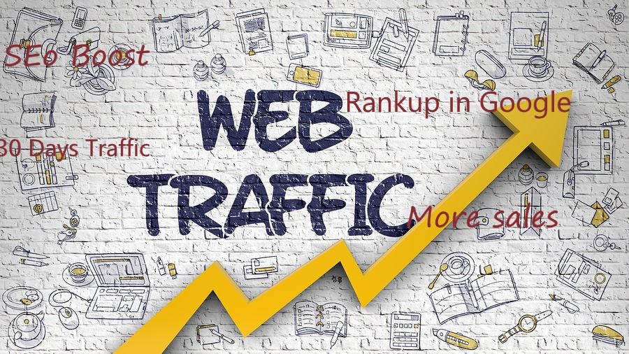 Get Real Human Traffic From Worldwide 30days to your Website