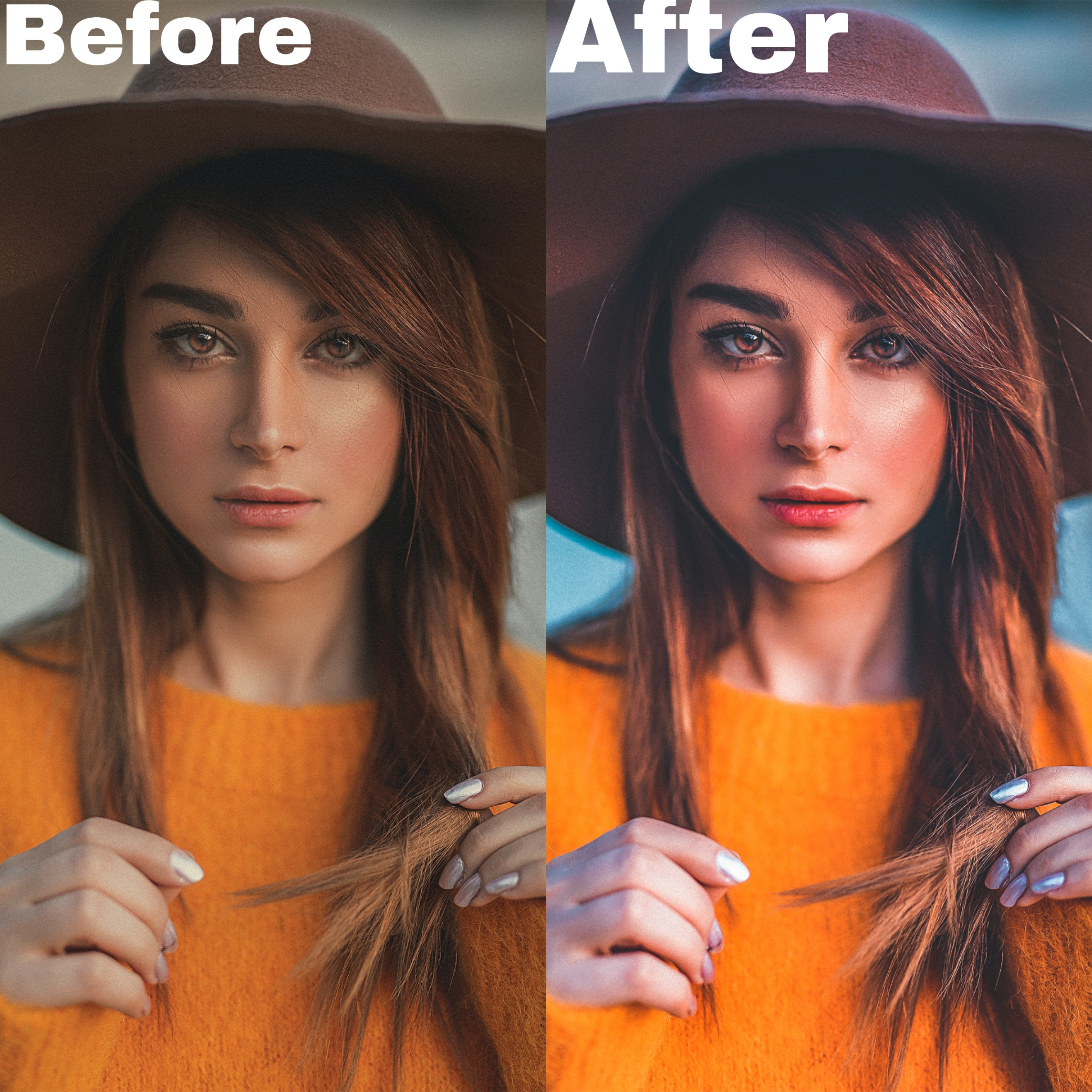 Photo enhancing and retouching