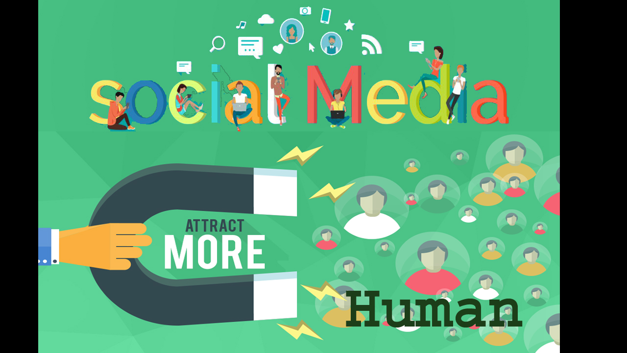 Real Human traffic from Top Social Media Networks for 20 days