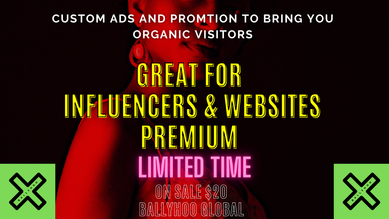 Adult Promotion Custom Ads Best for ADULT SITES,  ONLYFANS,  WEBCAMS,  ANY ADULT CONENT