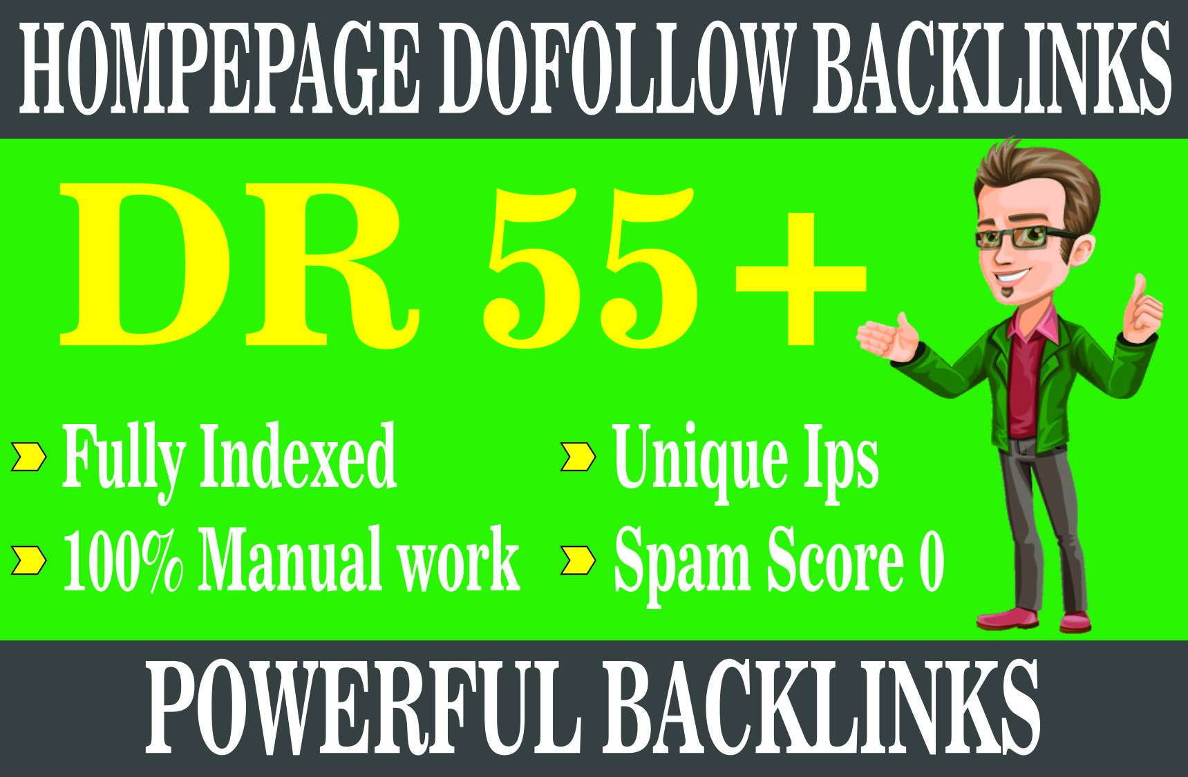 i will Create 1 DR55+ Permanent Homepage pbn Backlinks