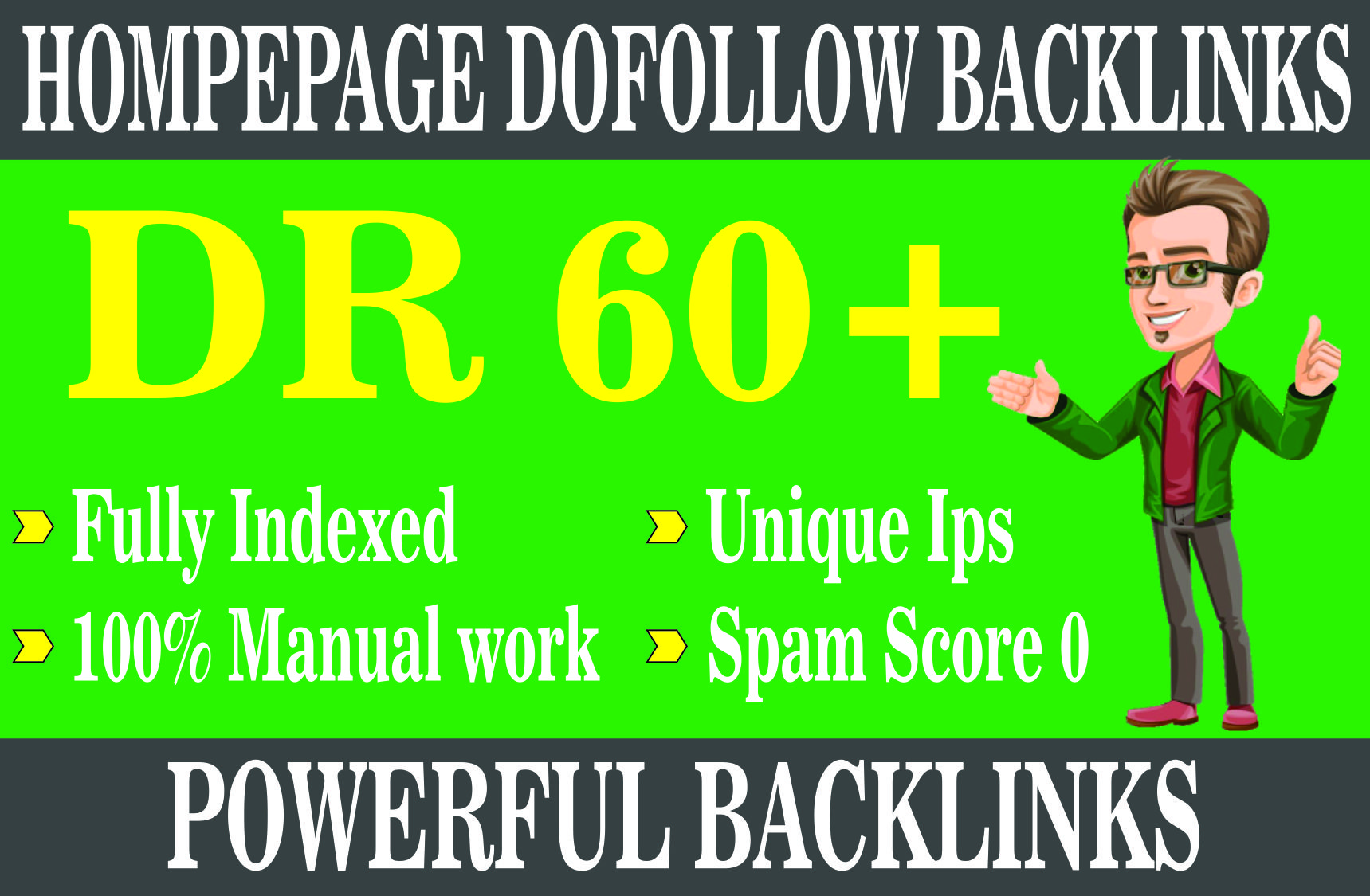 i wiil create 3 links DR 60+ pbn backlinks sticky homepage
