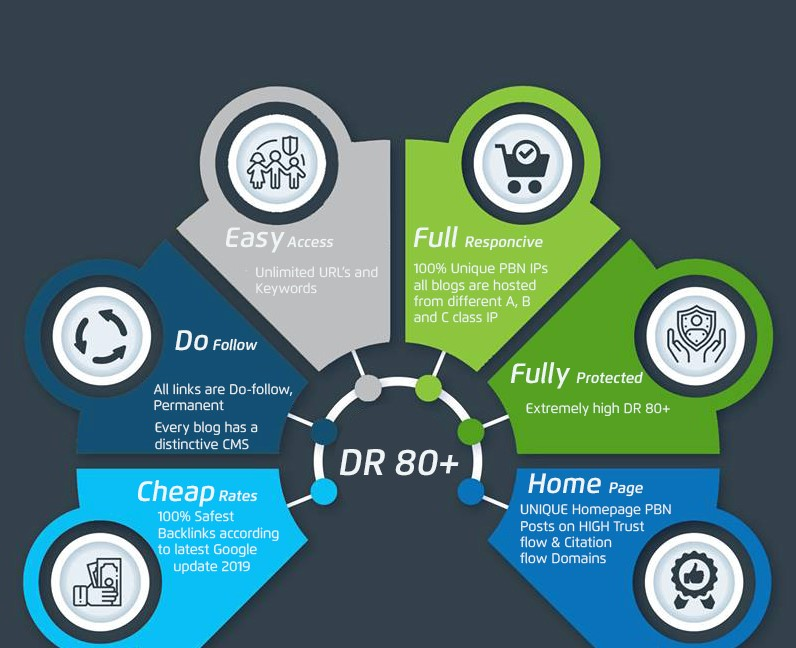 i will Create 1 DR80+ Permanent Homepage pbn Backlinks