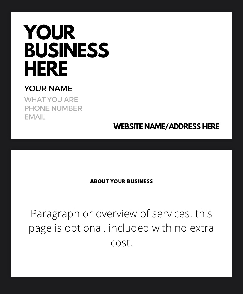 BUSINESS CARDS by BusinessX NO WATERMARKS