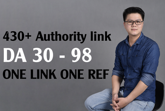 Entity Building 430 one link one ref authority link Da 30 - 98