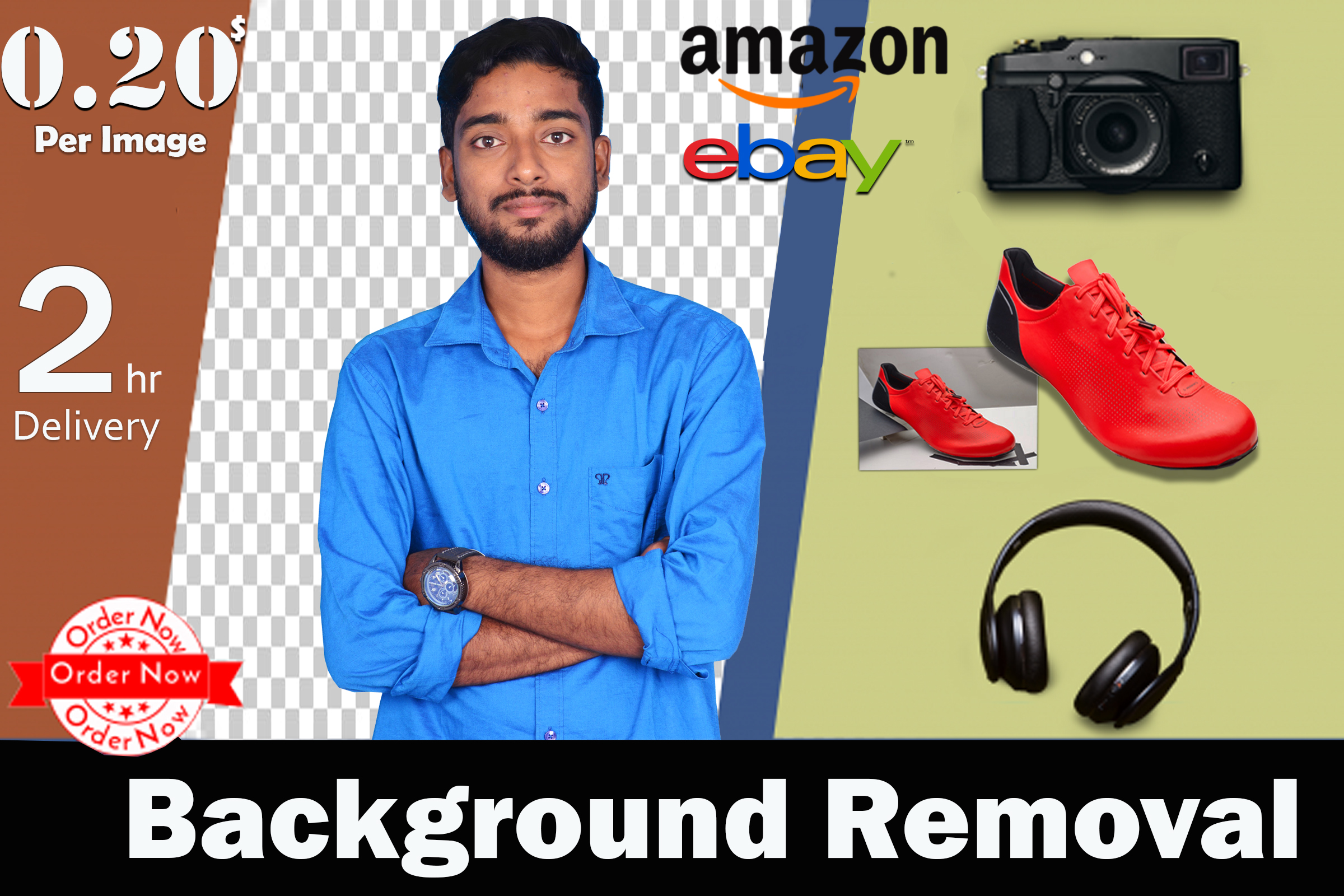 Super Fast photoshop editing & background removal, crop, resoze, remove watermark & vector art