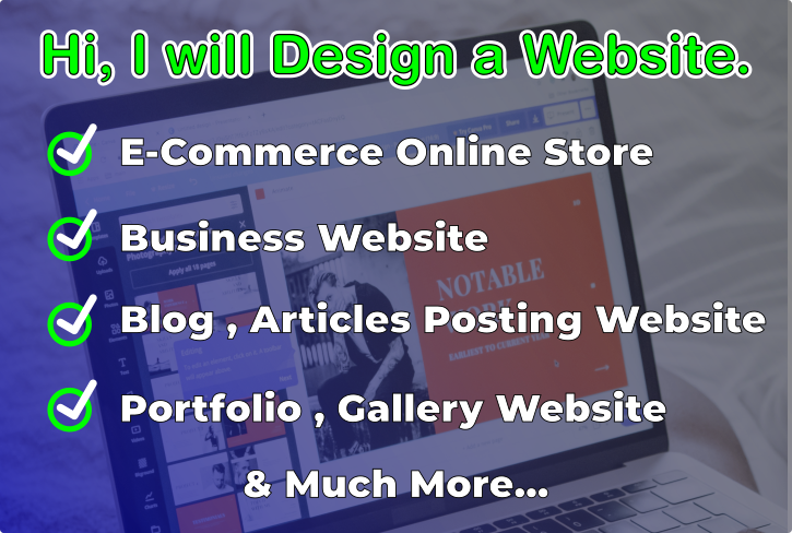 I will create build, Redesign ecommerce online store Website Blog Wordpress WooCommerce shopify wix