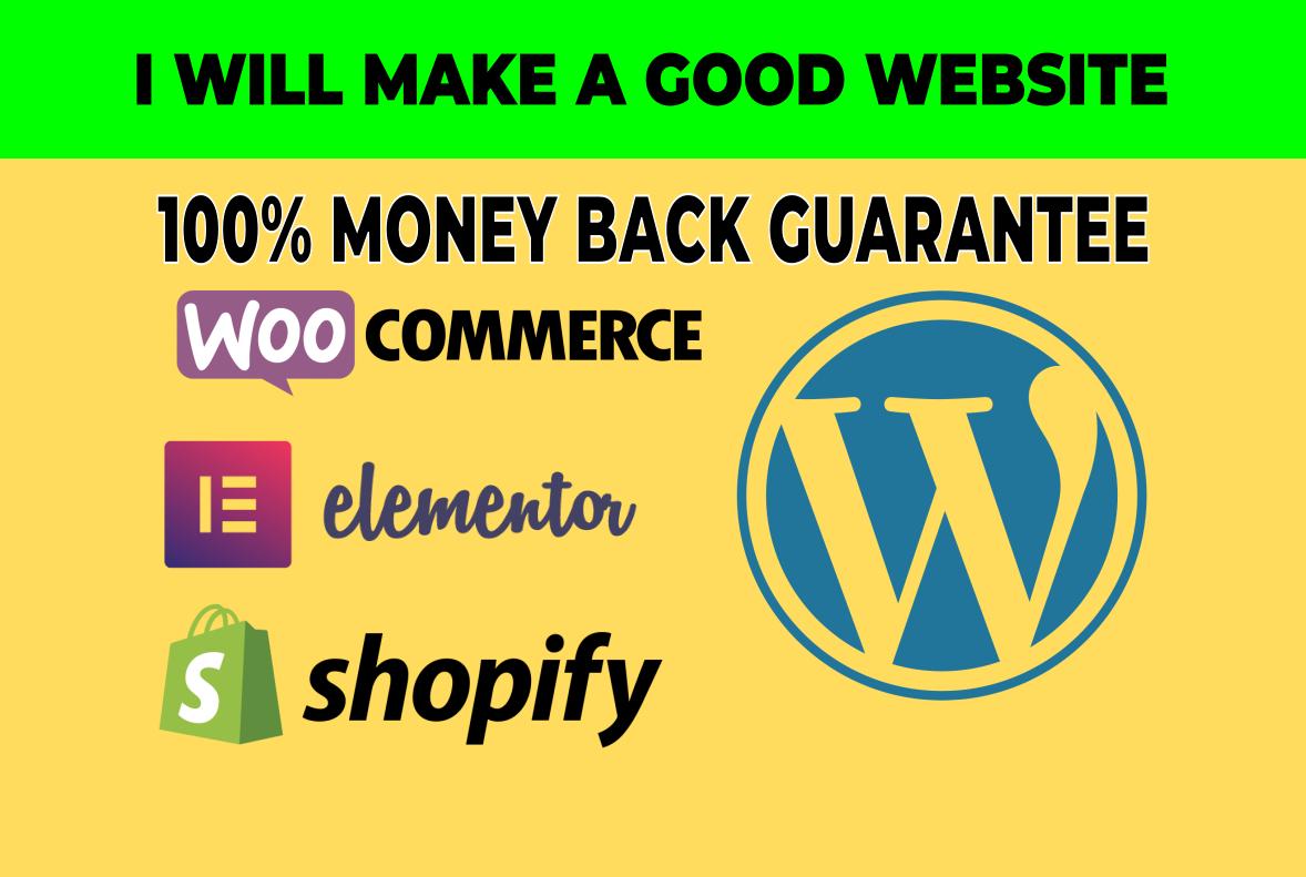 Wordpress Woocommerce Ecommerce Store Shopify Store Online Store Web Design Web Development Website