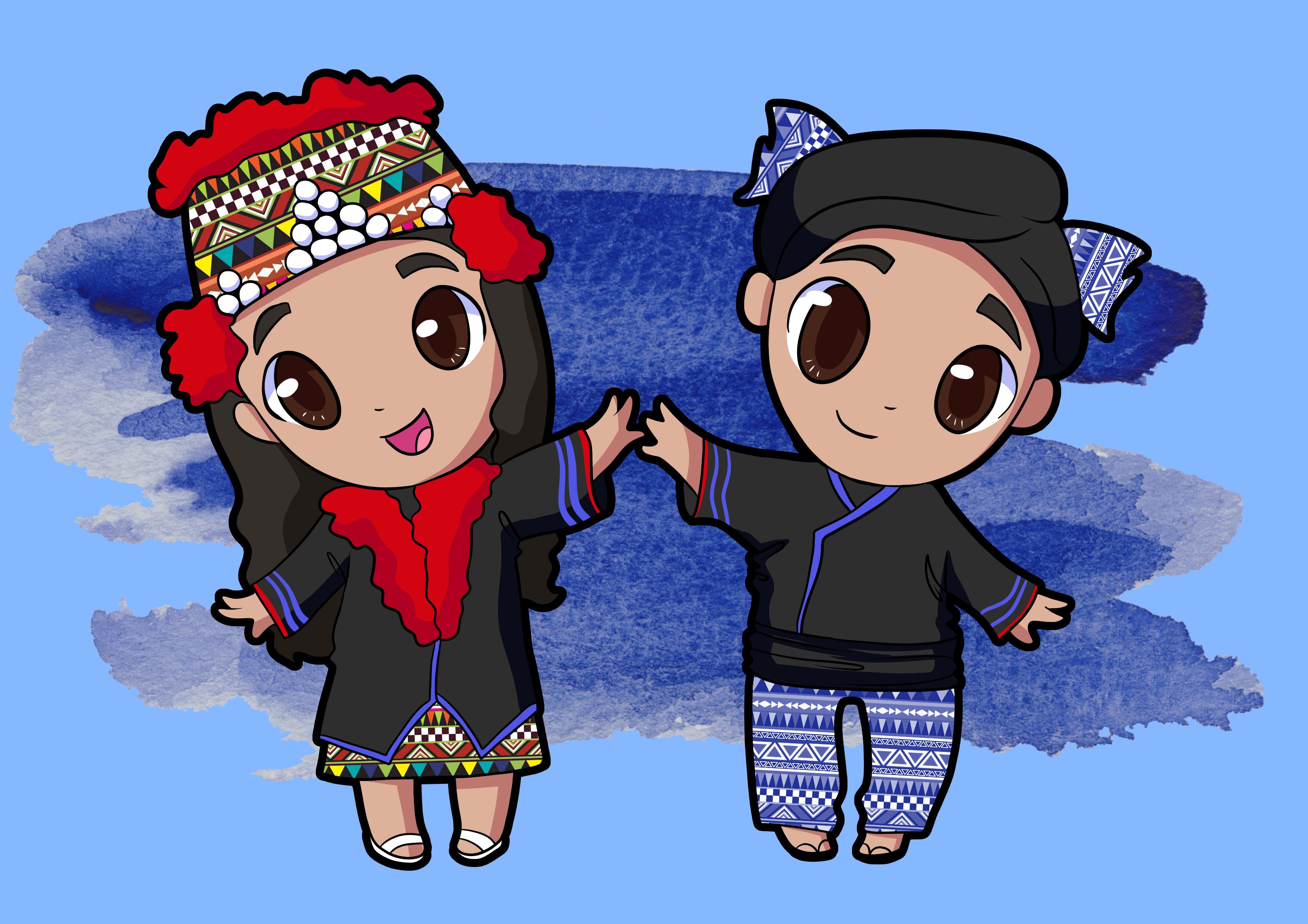 Adorable Cute Cartoon Chibi Design