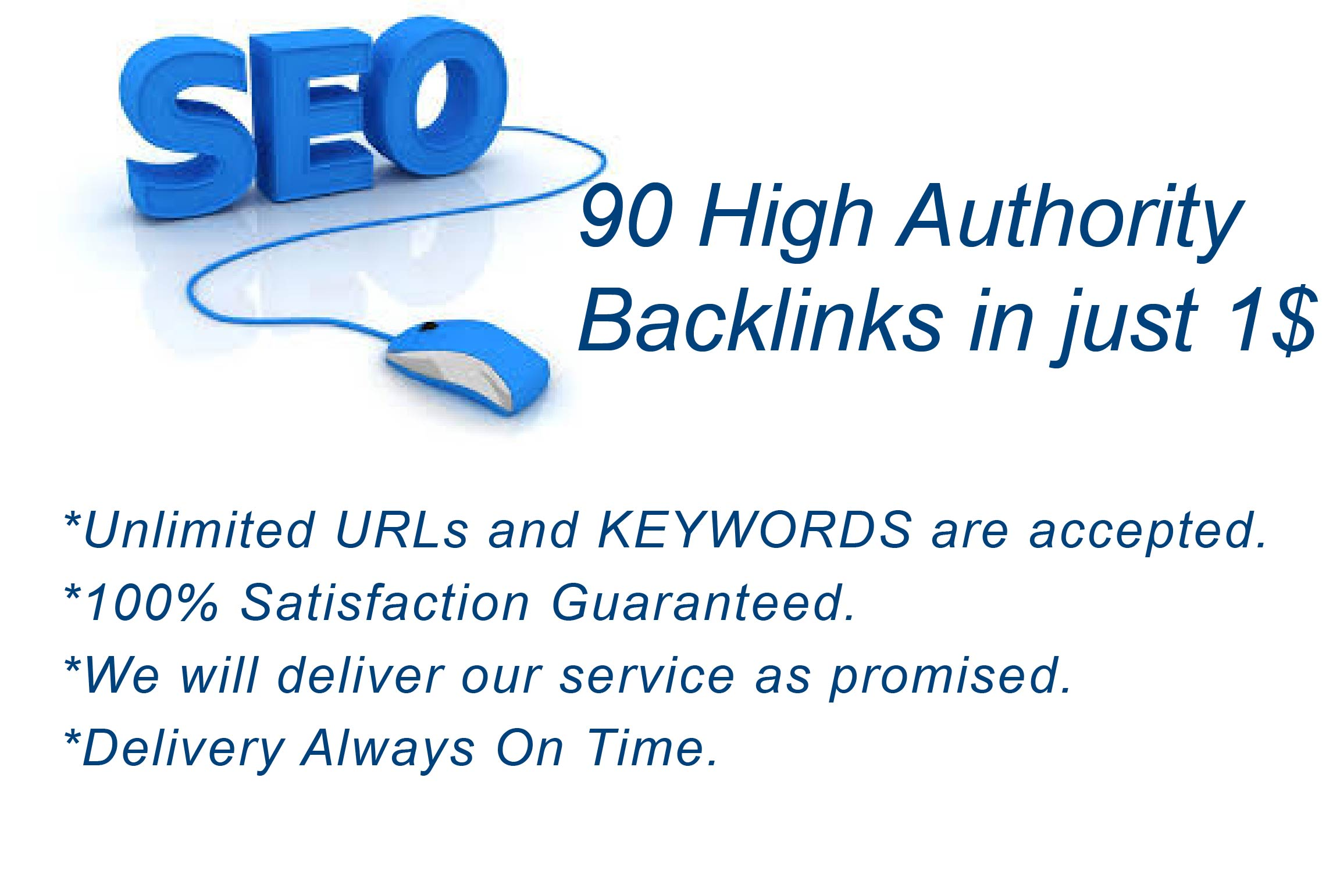 I will create 90 High authority blog comments backlinks