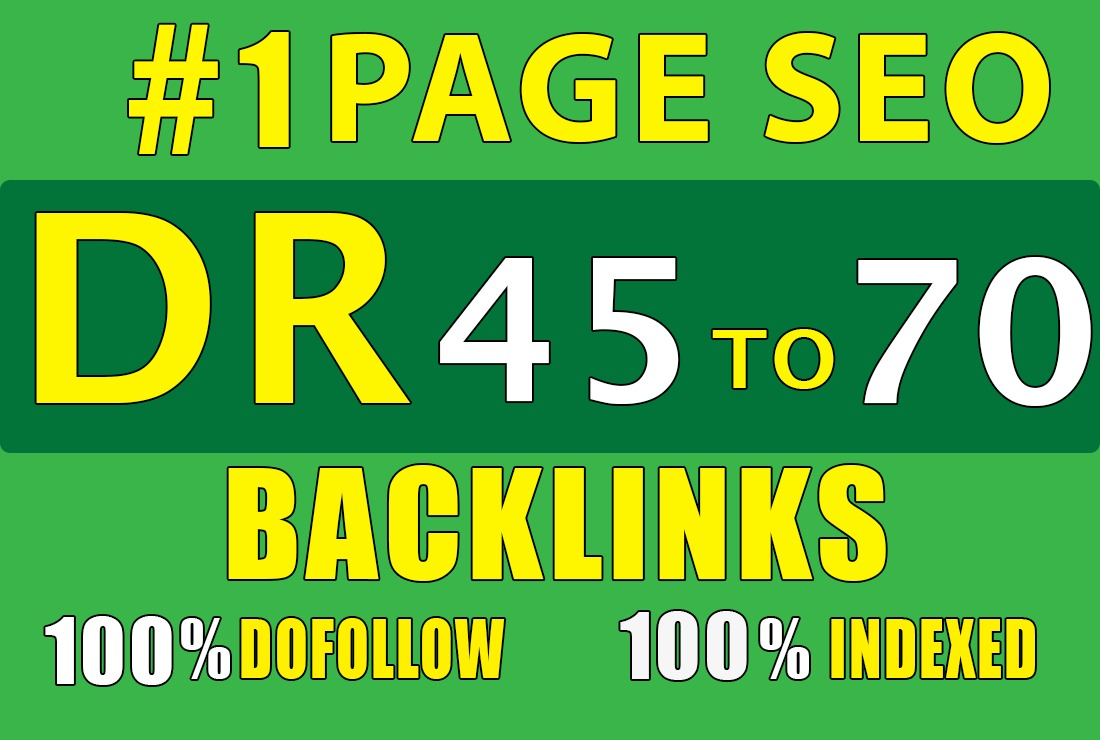 10 backlinks DR 45 to 70 homepage pbn dofollow high quality links