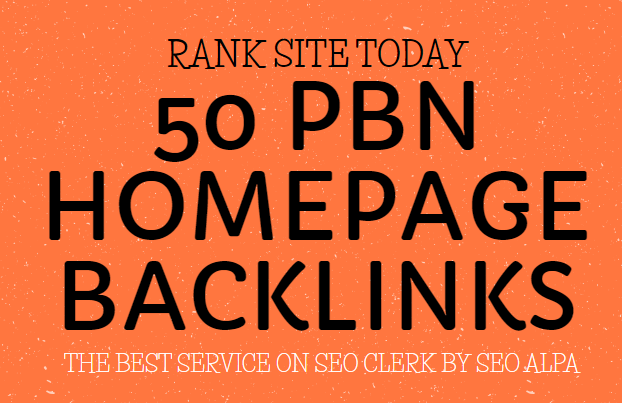 50 Pbn Backlinks High Quality Dofollow Links