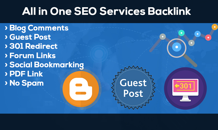 All in one SEO Services Backlink Boost your Website Ranking in Google