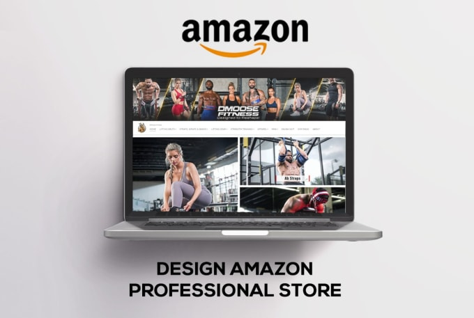 I will design amazon store that is appealing and responsive