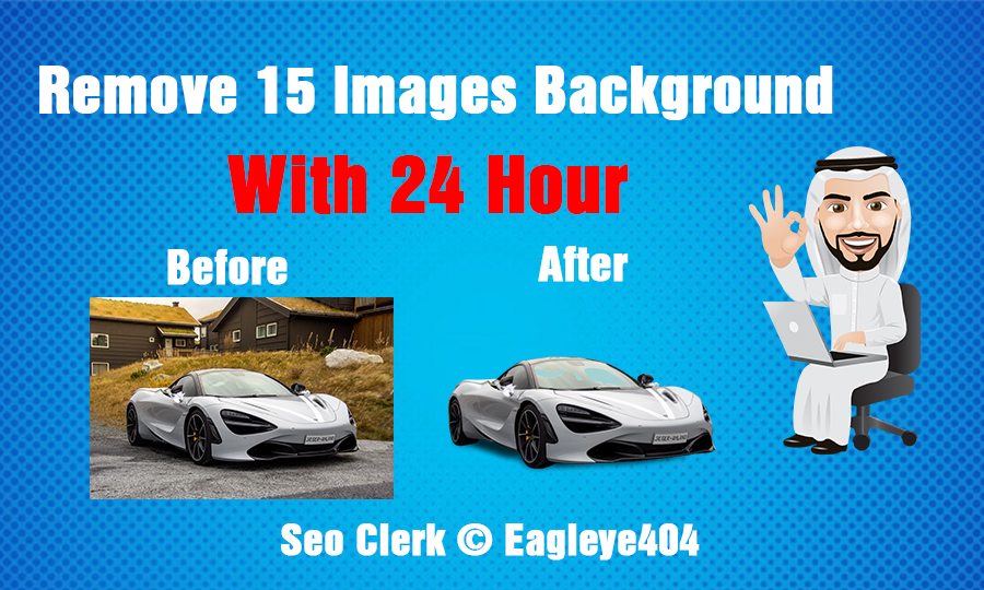 I will Remove 15 Images Background Within 24 Hours