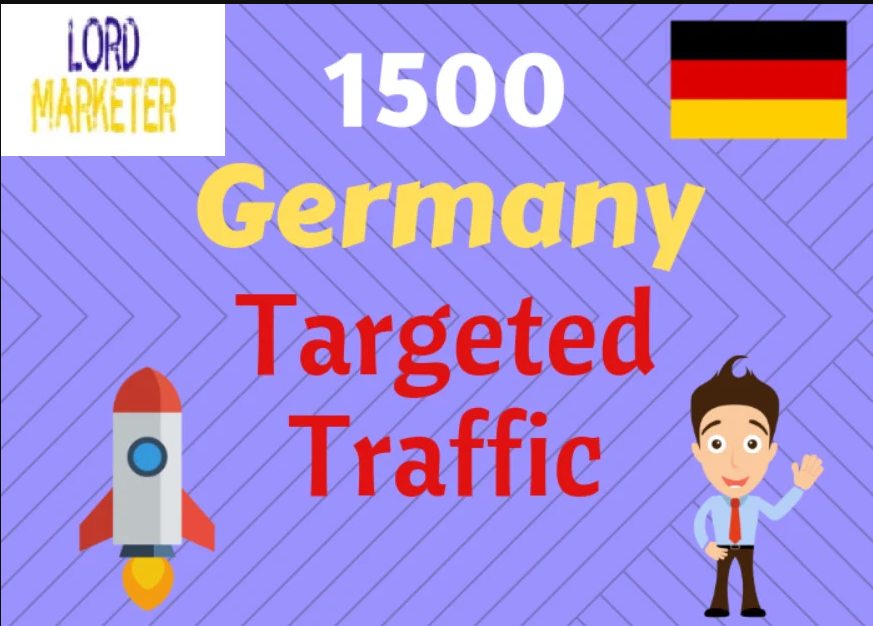 Deliver Super Targeted German Sales Web Traffic, Investors,  Sign Up