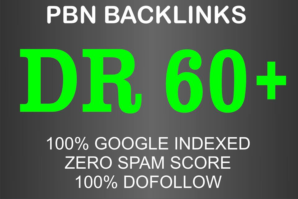 I will do 10 high DR dofollow pbn seo homepage backlinks