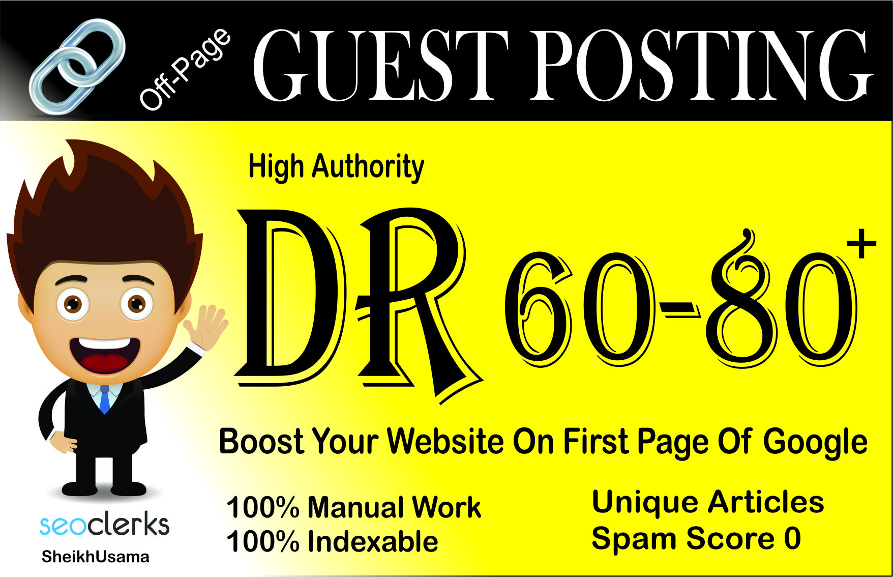Guest Posting Using (2) High DR 60 to 80 Permanent PBN Backlinks