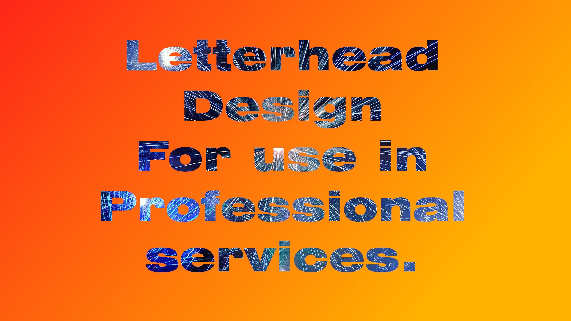 I will design a professional and eye-catching letterhead/Business card for you