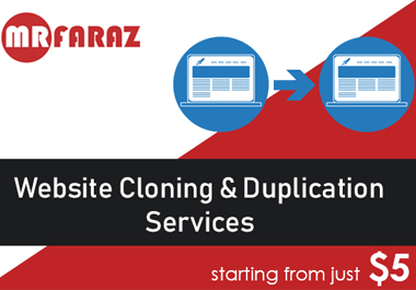 clone , copy , duplicate website to wordpress