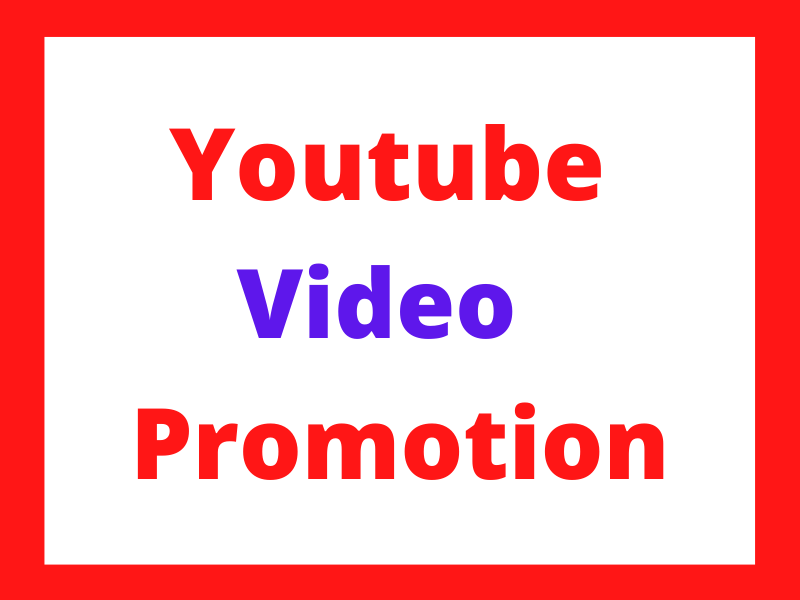 I Will DO YouTube promotion by Kamal321