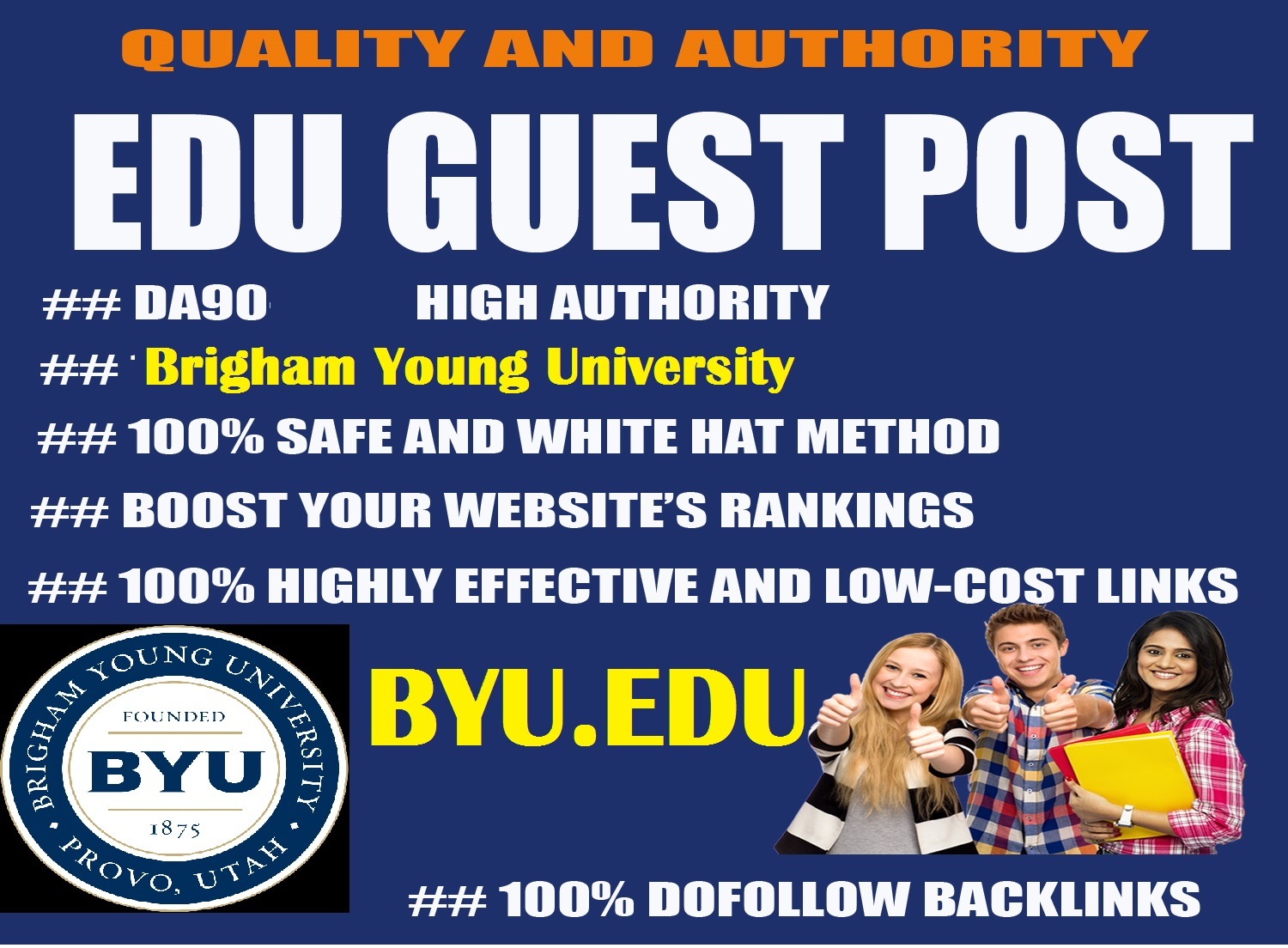 Guest Post on DA90 Brigham Young University,  Byu. edu