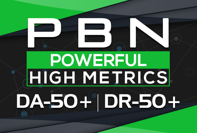 Build 20 High DA PA TF CF PBN DR 50 Homepage Quality Backlinks