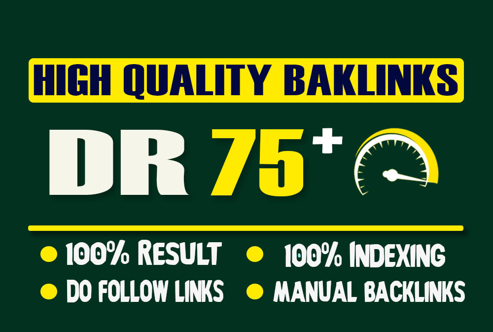 Build 40 Permanent DR 75+ Homepage PBN Dofollow Backlinks with Unique Content 100 Satisfaction