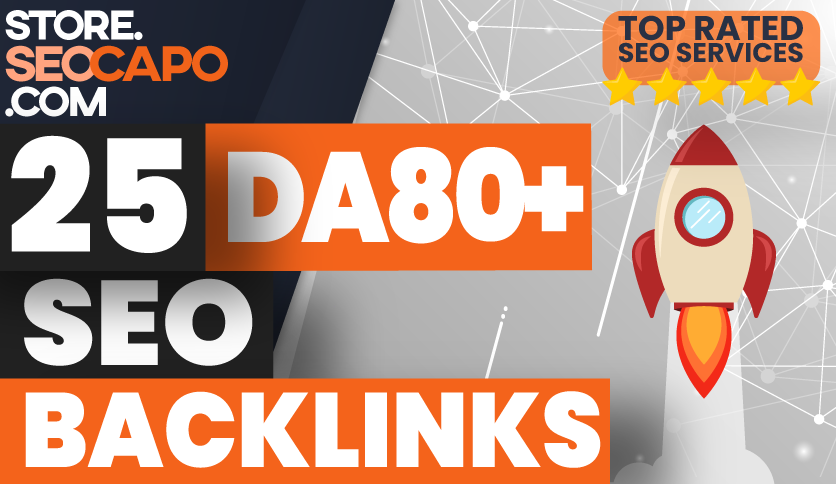 Create DA 80+ Manually 25 Pr9 High Domain Authority Backlink