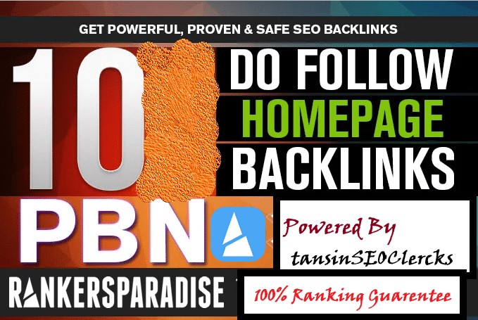 I Do Manually 10 High Quality Best Ranking Pr8, Pr9 Dofollow Links