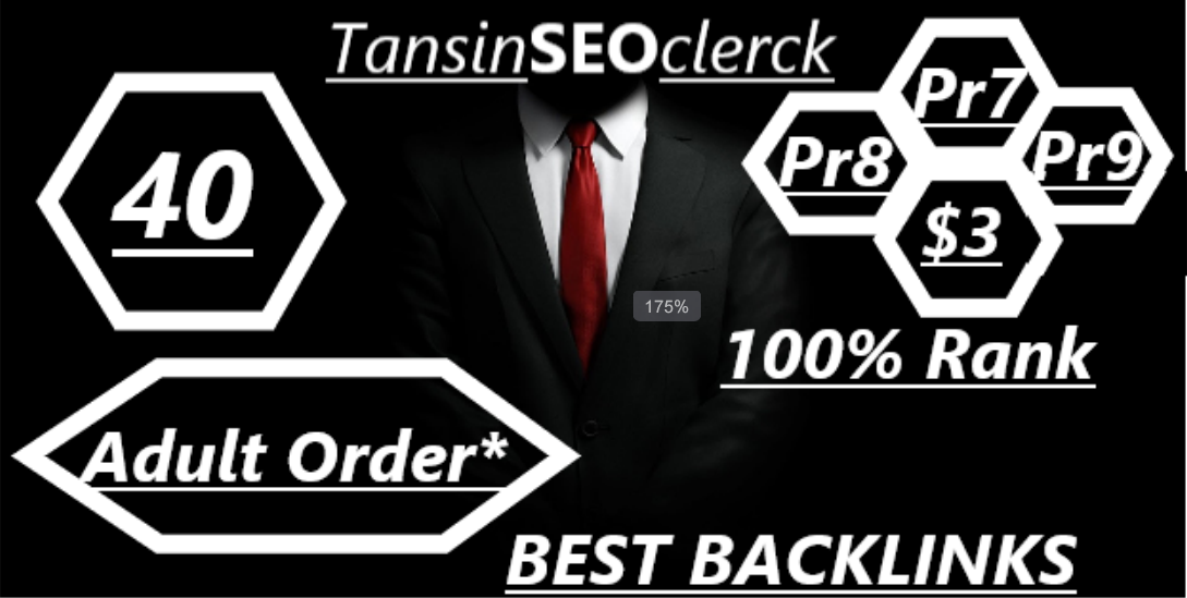 I Will Manually Do 40 Backlink For Adult Site