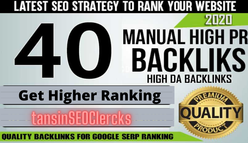 Rank Your Casino,  Poker,  Gambling,  Website With 40 High Quality Backlink Manually