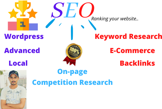 I will rank your website through SEO in a professional way.
