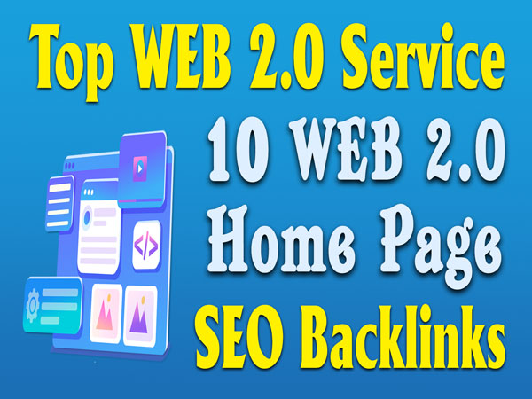 10 Web2.0 Homepage Seo Backlinks Web 2.0