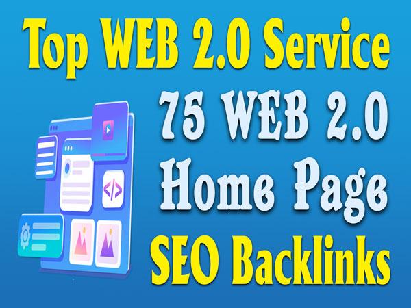 75+ web 2 0 homepage seo backlinks high quality web2.0