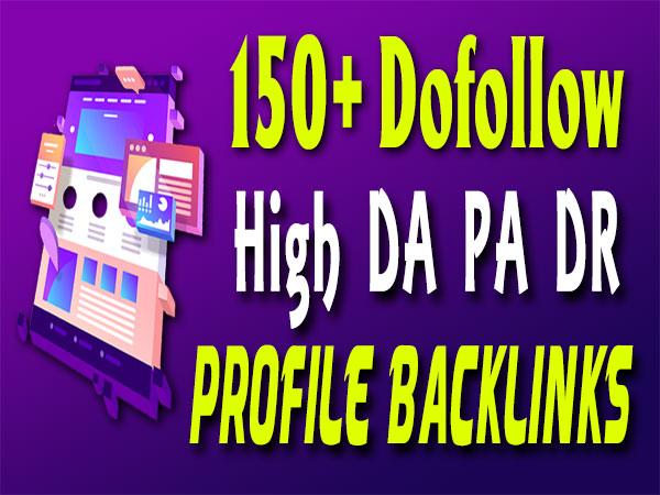 150+ Dofollow SEO Profile Backlinks