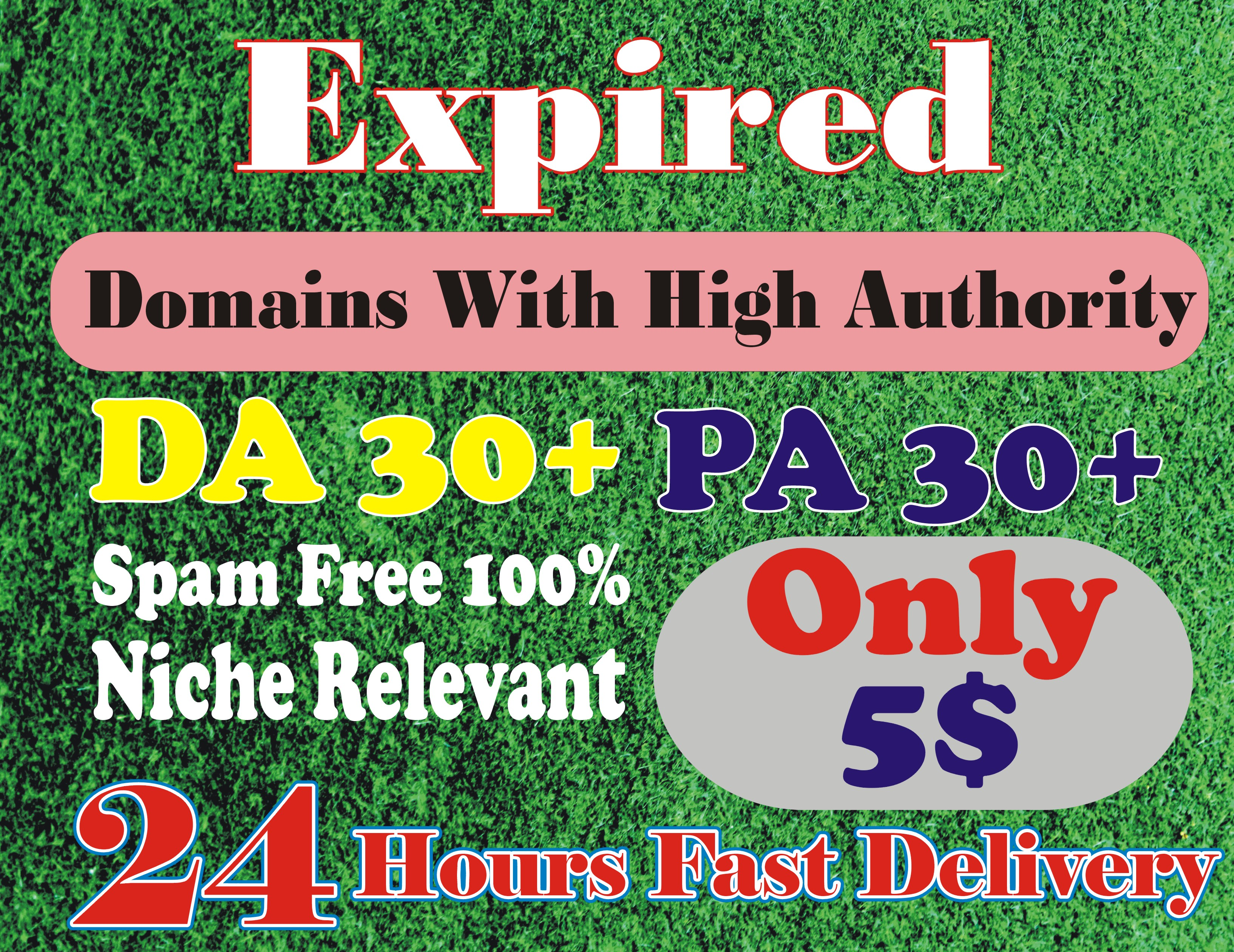 I will search high da pa expired domains