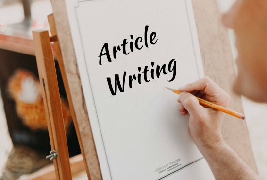 Do 1000 words 5 article/Website Content or Blogs Post writing in any topic
