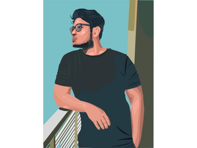 I will Create CARTOON Avatar portrait illustration of your photo
