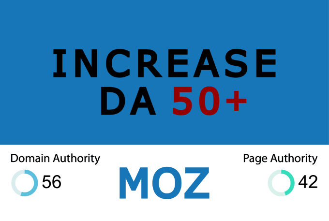 Increase Moz Domain Authority DA 50+ Or Money Refund