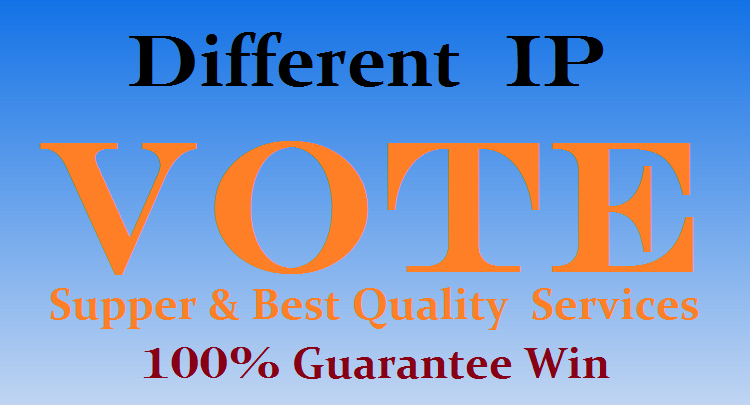 Get 1000 Different ip votes on your poll contest