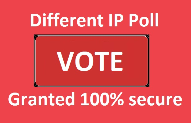 Get 500 Different IP votes contest that you are participating