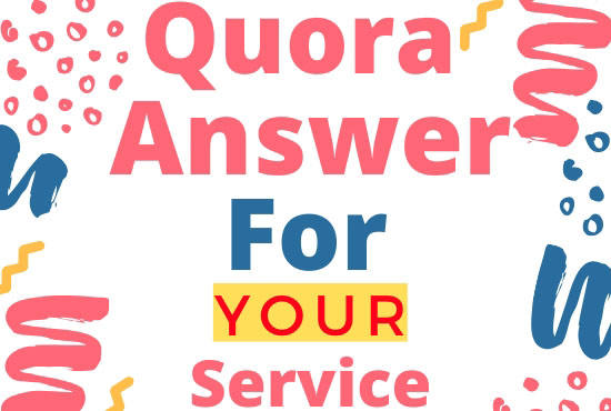Posting High Quality 10 Quora Answer with backlinks