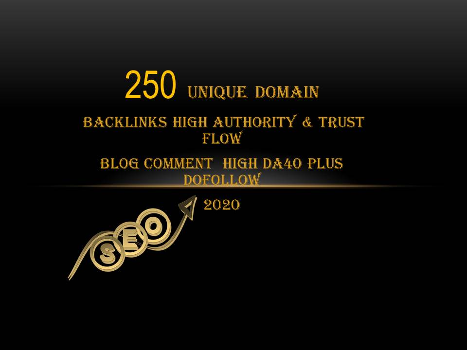 I will do 250 Unique Domain High DA PA With Dofollow