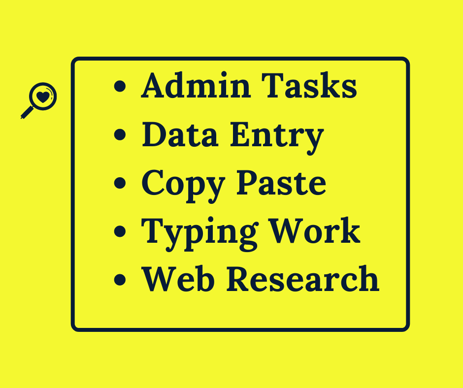 I Will Provide Data Entry Jobs For You