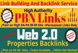 Do manually high da pbn links and web 200 backlinks
