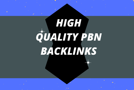 I will provide 10 High TF CF Permanent PBN Backlinks.