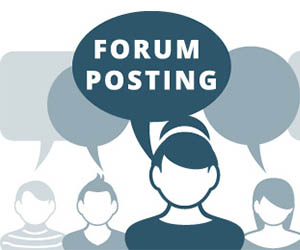 I can do 35 HQ forum post for your website